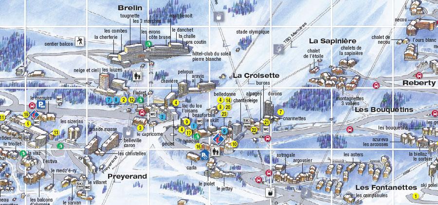 Location Ski Menuires Croisette